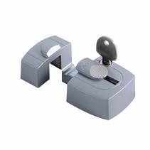 Axa oplegslot 3015 opbouwsluitkom zilver 3015-00-90/G SKG*