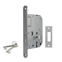 Dulimex insteekslot voorkastdeur met bontebaard RVS 174x20