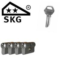 Lips cilinder 8062 gelijksluitend (4x) - SKG**