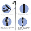 OUTAD Trekking Ski Poles Light and Folding 35cm in Length (2 units)