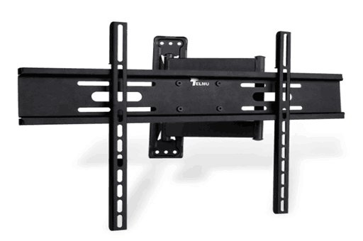 Stock in Europe Telmu TVM003 TV Wall Mount Bracket Cantilever Arm Tilt Feature for 32 to 70 Inch LED LCD 3D 4K Plasma TV Screen with 180 Degree Swivel VESA Super Strong 50kg Weight Capacity