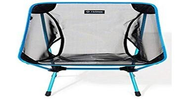 Camping chair, by LESHP, compact, foldable and lightweight chair with maximum capacity of up to 150 kg, for backpacking, hiking, picnics, fishing, transport bag included