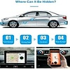 LESHP GPS Car Locator, Mini GPS Tracker Real Time Long Standby Anti-Theft Strong Magnetic Waterproof Car Alarm Pursuit for Car Motor Vehicle