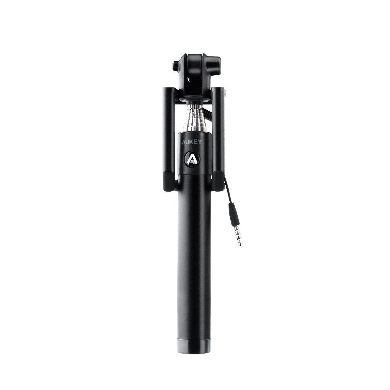 Aukey HD-P8 Selfie Stick – Black