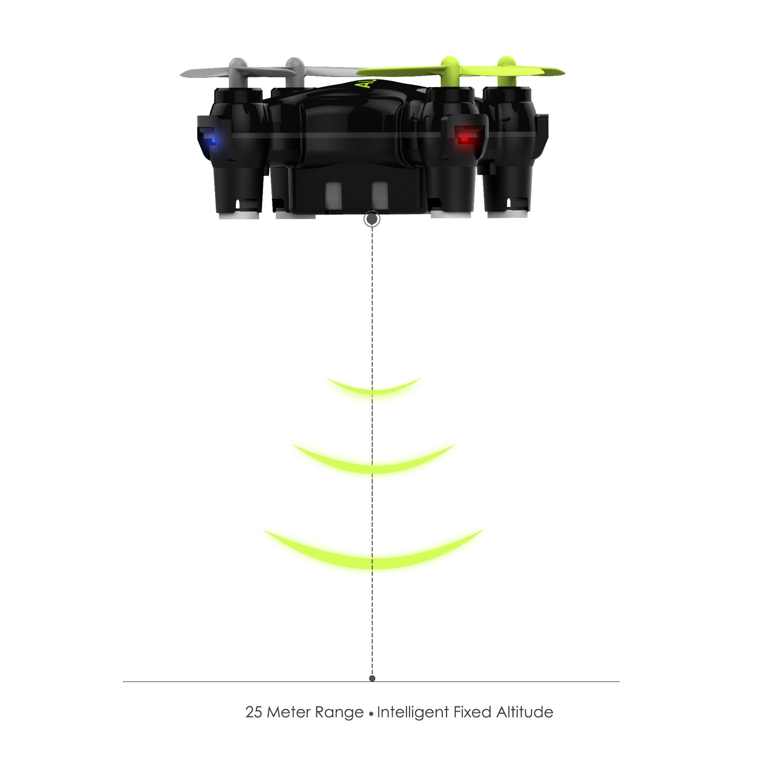 AUKEY ua-p01 Mini RC Drone Quadcopter RC 3D flip – An American 2.4G 4 Axis Gyro Intelligent Altitude Hold, 3 Speed