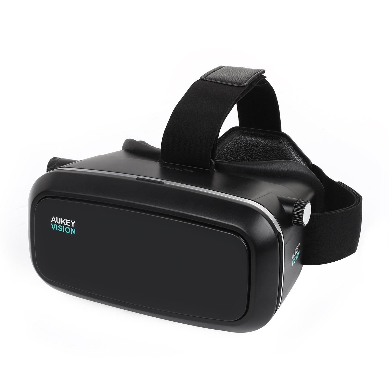 Aukey VR-O1 Virtual Reality 3D-brillen - Zwart