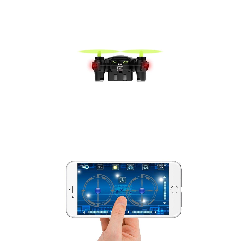 AUKEY One-Key Landing en Take-Off Quadcopter Mini Drone 2.4G - Zwart