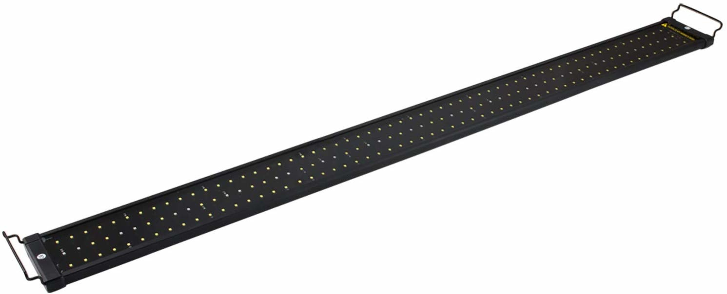 NICREW ClassicLED 46'' - 54'' / 120cm Aquarium Light, Fish Tank Light with Extendable Brackets, White and Blue LEDs