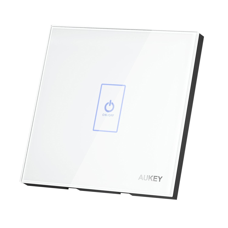 Aukey Touch panel schakelaar met touchscreen glas en LED indicator (PA-L1E)