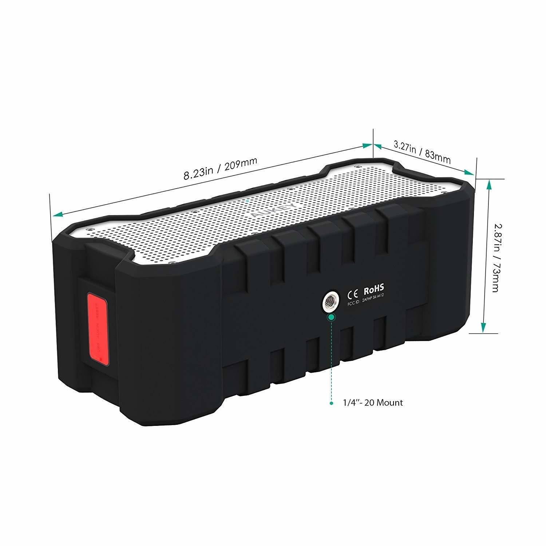 AUKEY Bluetooth-luidspreker Dual-driver 30 uur levensduur van de batterij, waterbestendig