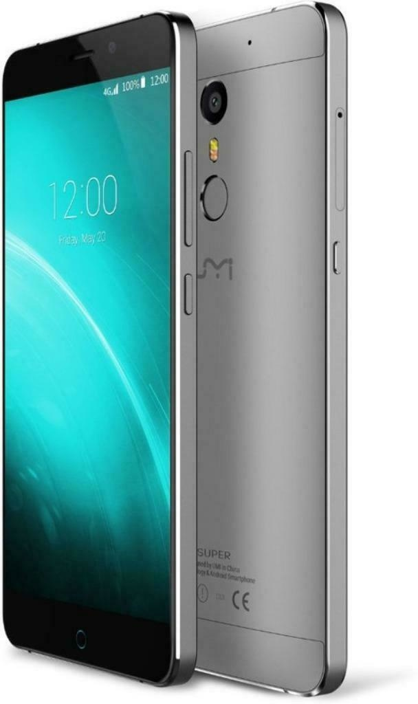 Smartphone Umi Super 32 GB - grijs