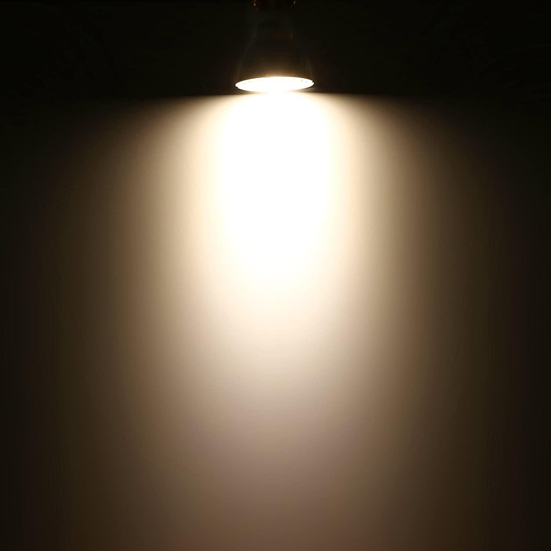 Aglaia GU10 LED-lampen 4 W, 32 W, equivalent aan gloeilampen, led-lampen met 3000 K warmwit en 340LM, verpakking van 4 stuks