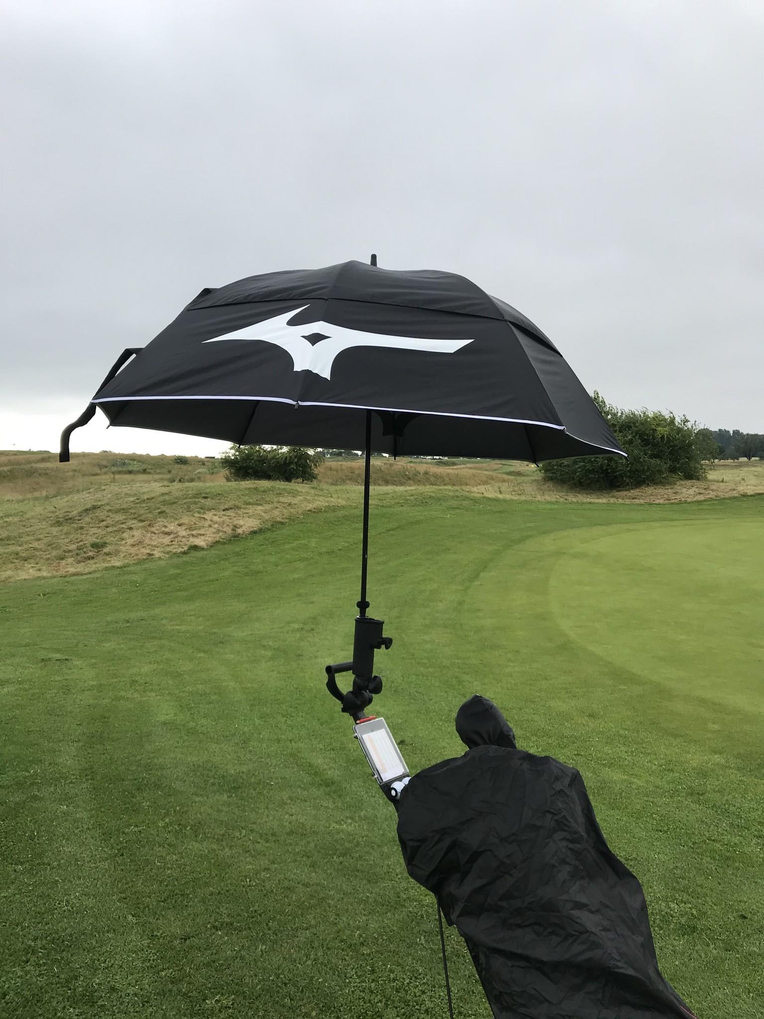 mizuno golfparaplu twin canopy
