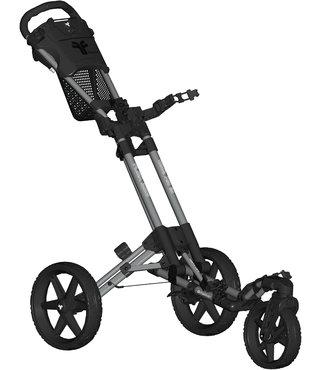 Fastfold  Flex 360 golftrolley grijs/zwart