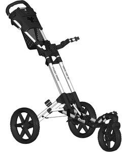 Fastfold 360 golftrolley - wit/zwart