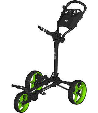 Fastfold Slim  golftrolley zwart/groen