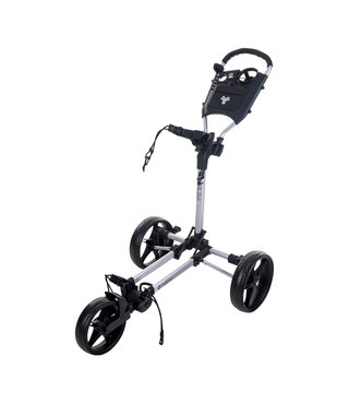 Fastfold Slim  golftrolley zilver