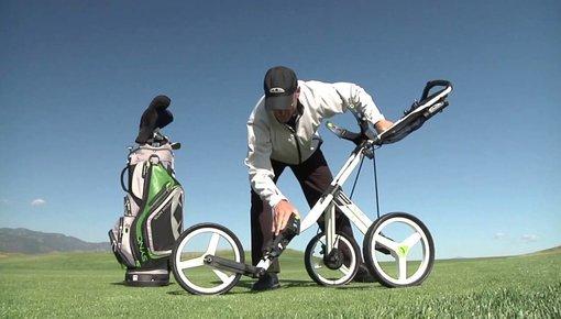 Golftrolleys 3 wielen