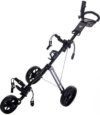 Fastfold Force golftrolley zwart