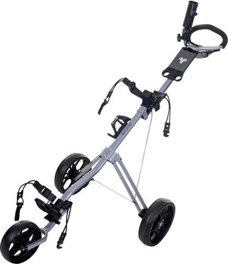 Fastfold Force golftrolley zilver
