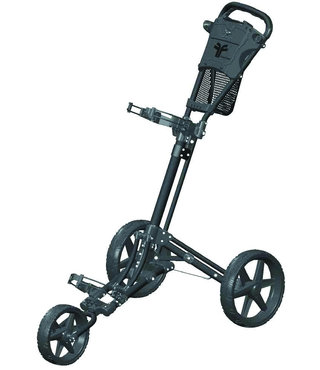 Fastfold Trike golftrolley zwart