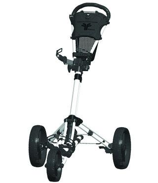 Fastfold Trike golftrolley wit/zwart