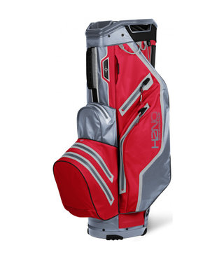 Sun Mountain H2NO Lite Cart Bag rood/grijs
