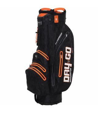 Bennington Dry Go 14 cartbag zwart/oranje