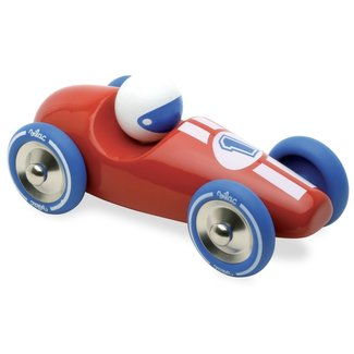 Vilac Racing car wood red large