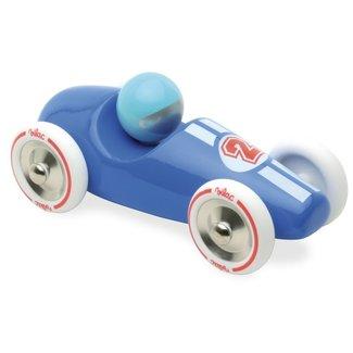 Vilac Race auto hout blauw large