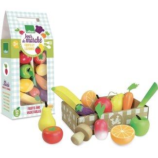 Vilac Fruit en groenten in kistje