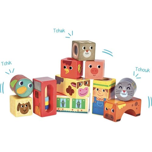 Vilac Musical blocks farm