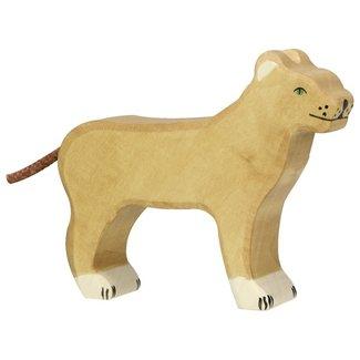 Holztiger Löwin 80140 13,5 cm