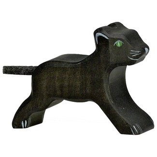 Holztiger Panther small 80144 7 cm