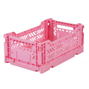 Ay-Kasa Folding Crate Mini Baby Pink