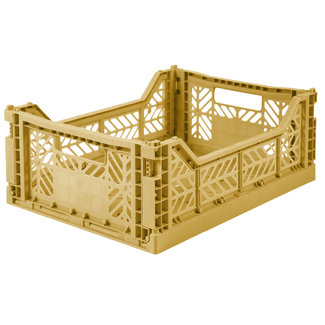 Ay-Kasa Folding Crate Midi Gold
