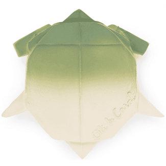 Oli & Carol H2 Origami bad- en bijtspeeltje schildpad
