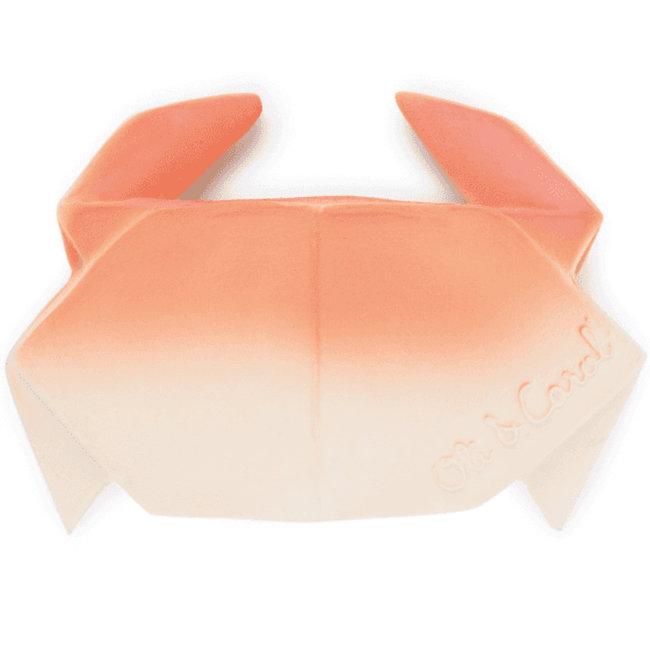 Oli & Carol Krab H2 Origami bad- en bijtspeeltje