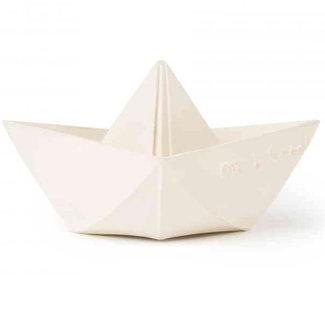 Oli & Carol Origami boot wit bad- en bijtspeeltje