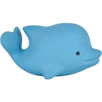 Tikiri Delphin Badspielzeug und Rassel Blau