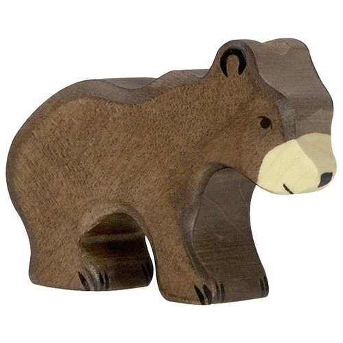 Holztiger Brown Bear small 80185 8,5 cm