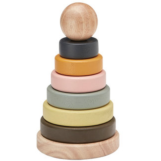 Kids Concept Stacking tower wood NEO