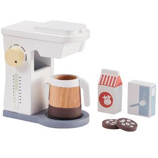 Kids Concept Houten Koffiezetapparaat Bistro wit
