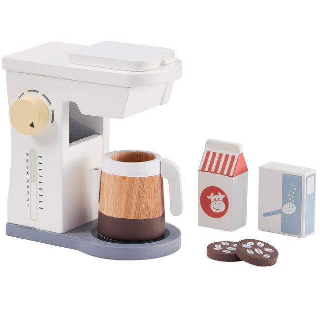 Kids Concept Kaffeemaschine Bistro weiß