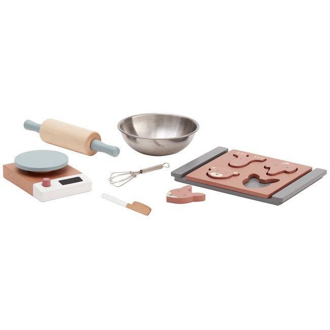 Kids Concept Houten koekjes bakset Bistro