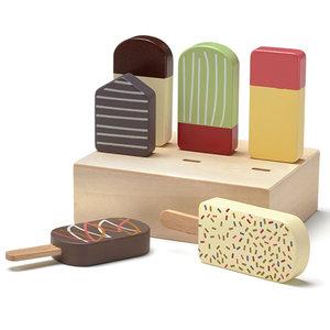 Kids Concept Houten ijsjes Bistro