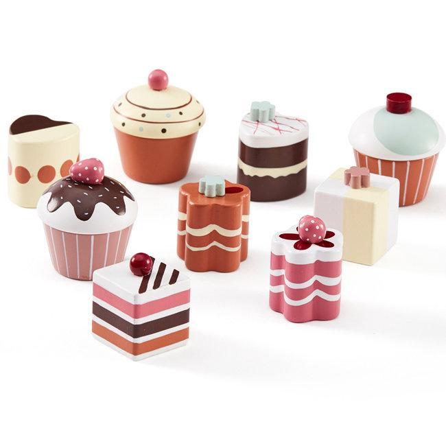 Kids Concept Cupcakes aus Holz Bistro
