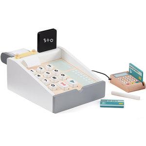 Kids Concept Wooden cash register Bistro white