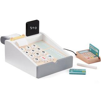 Kids Concept Kasse aus Holz Bistro weiß
