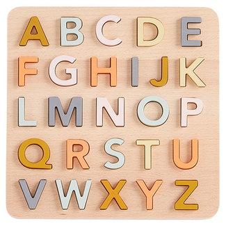 Kids Concept Houten alfabet puzzel